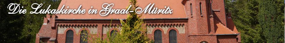 Die Lukaskirche in Graal-Müritz