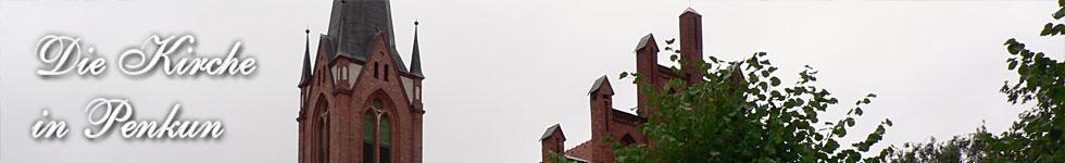Die Neogotische Backsteinkirche Penkun