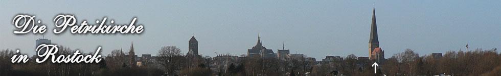 Die gotische Petrikirche zu Rostock